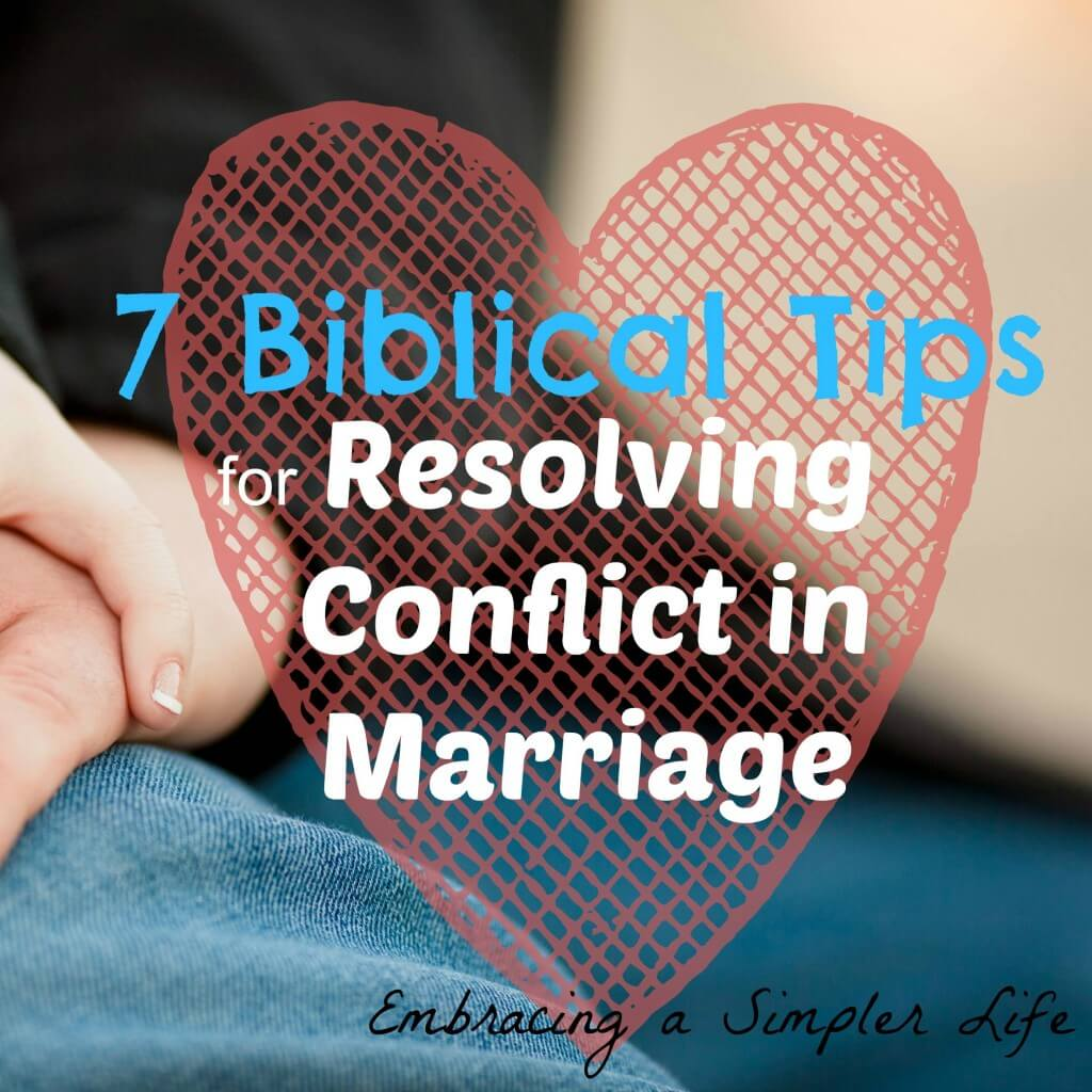7 Biblical Tips for Resolving Conflict Resolution square