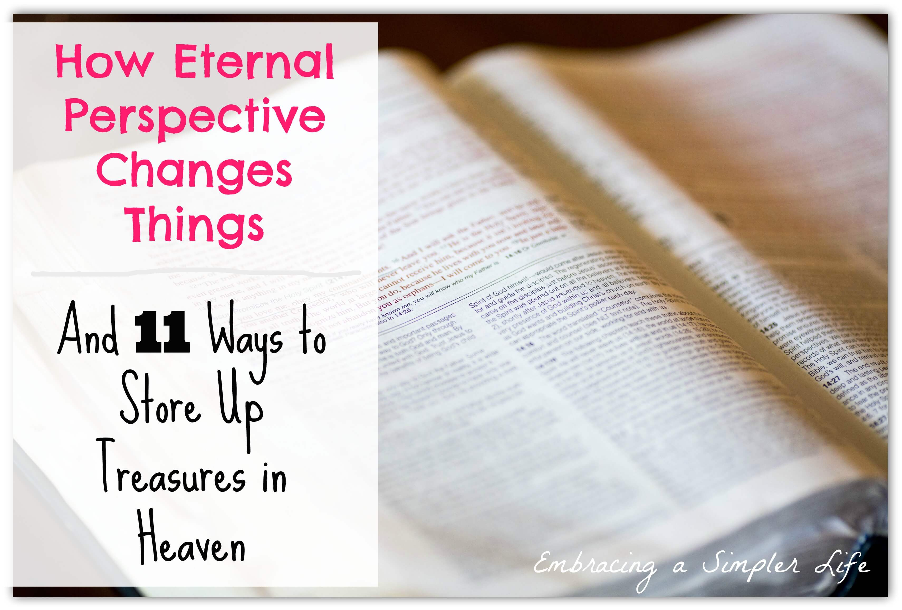 eternal perspective graphic