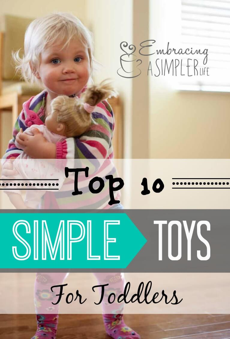 simple toys for toddlers