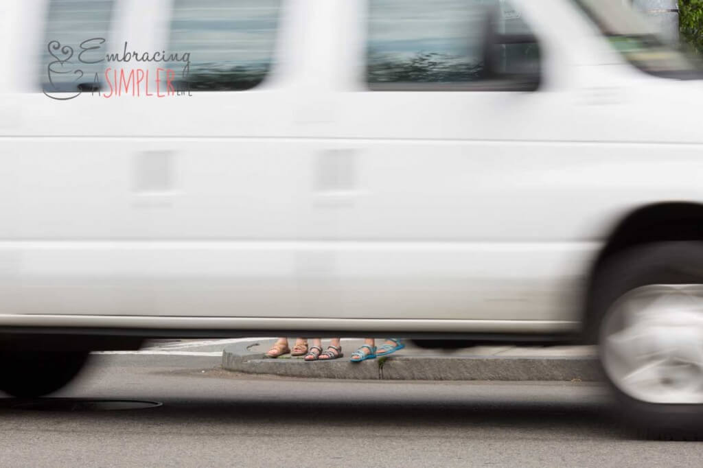 Feet in the street Photography