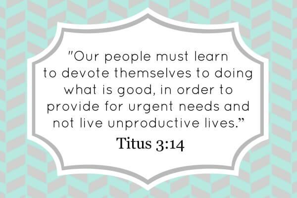 Titus 3:14