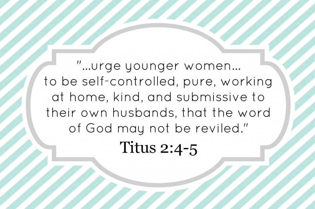 Titus 2_4-5