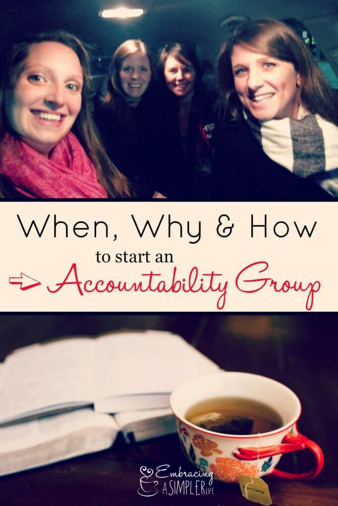 when why and how to start an accountability group