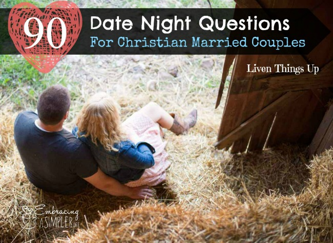 Questions for christian dating