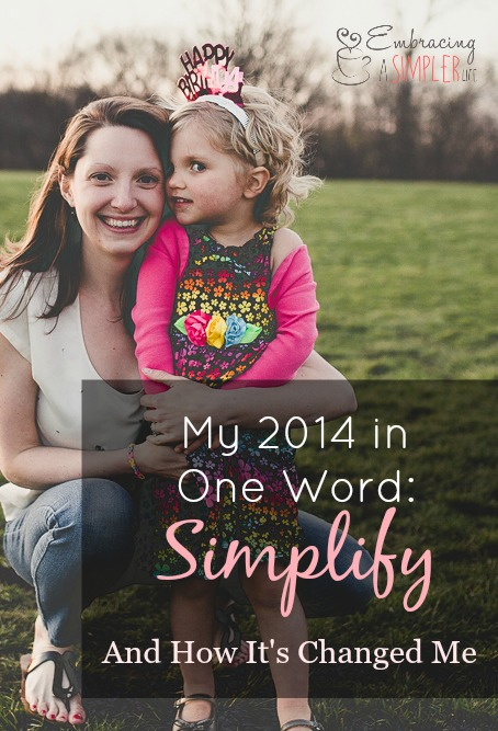 my 2014 in one word and how it's changed me