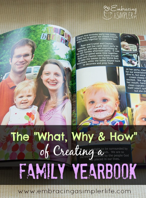 The What, Why and How of Creating a Family Yearbook