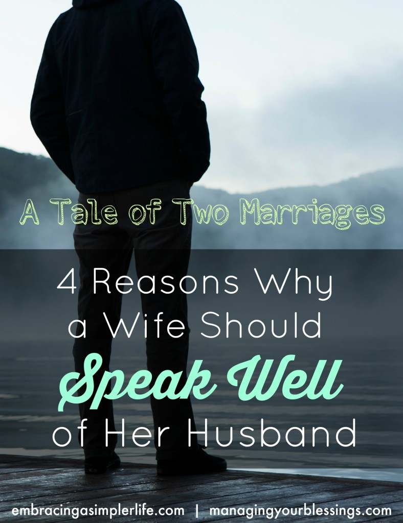 a tale of two marriages- 4 reasons why a wife should speak well of her husband TOP PHOTO