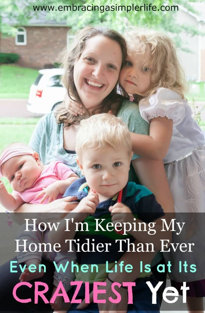 how I'm keeping my home tidier than ever2