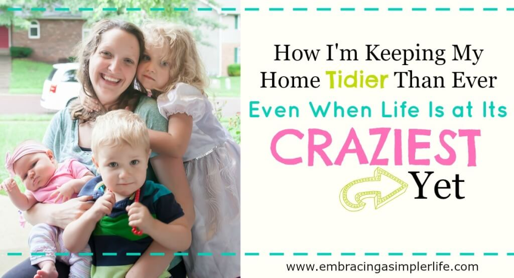 how I'm keeping my home tidier than ever2 FB