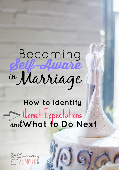Becoming Self-Aware in Marriage