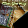 how to worship God when you pray and why you should