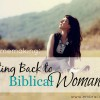biblical womanhood FB