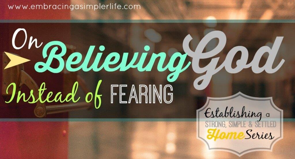 on believing God FB