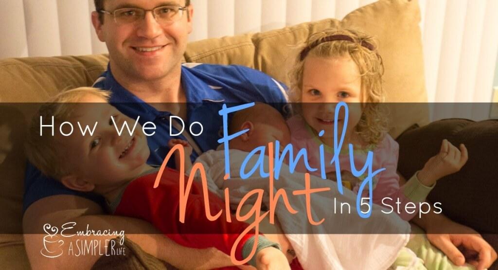how we do family night FB