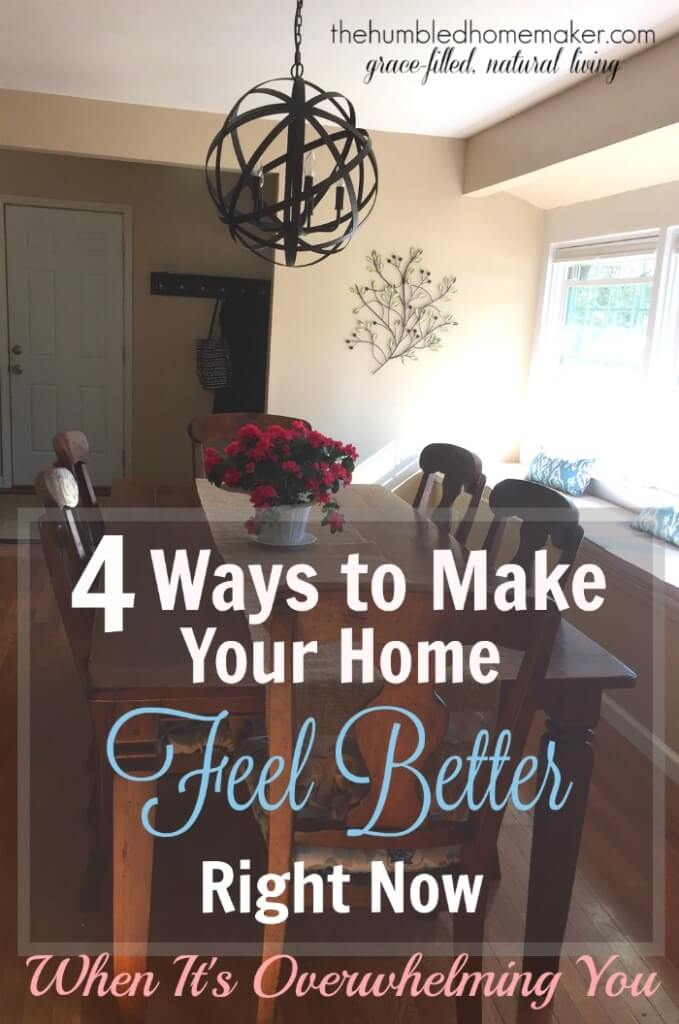 4 ways to make your home feel better right now