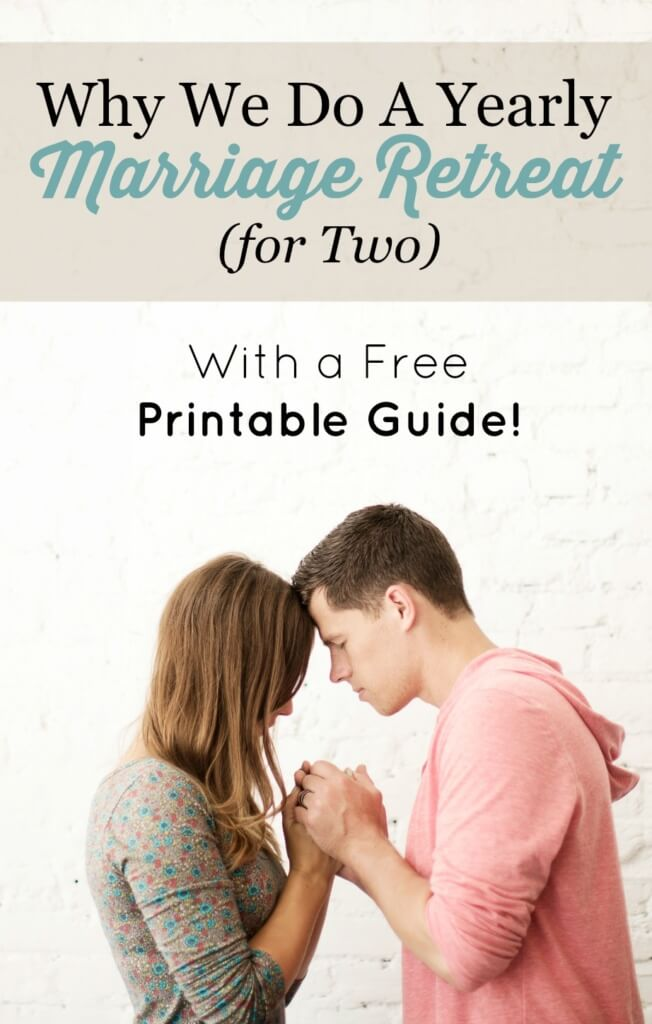 Marriage Retreat for Two Free Printable Guide