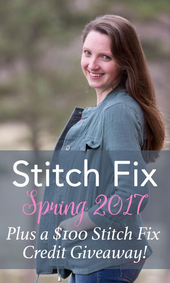 Stitch Fix $100 Giveaway